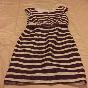 Banana Republic size 6 stripe dress